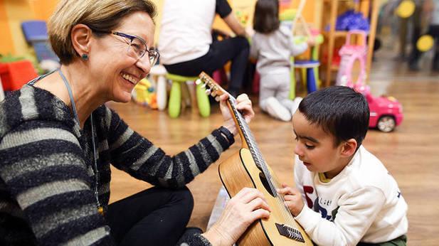 Musicoterapia con Izei