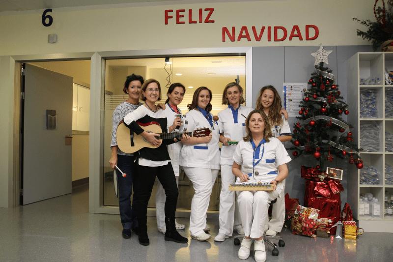 Profesionales sanitarios, Musicoterapeuta y Coterapeuta_IMQ_dic2016